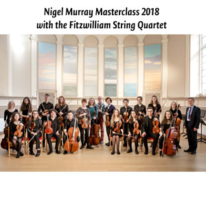 Young musicians participate in annual Nigel Murray Masterclass