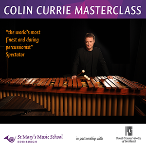 Colin Currie Percussion masterclass thumbnail