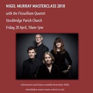 Nigel Murray Masterclass 2017