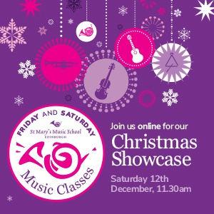 Saturday Music Classes Christmas Showcase