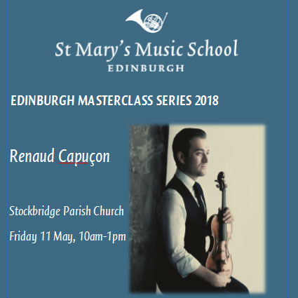 Edinburgh Masterclass Series 2018