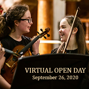 Virtual Open Day at St Mary's Music School, Edinburgh