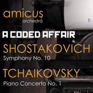 Amicus Orchestra concert flyer